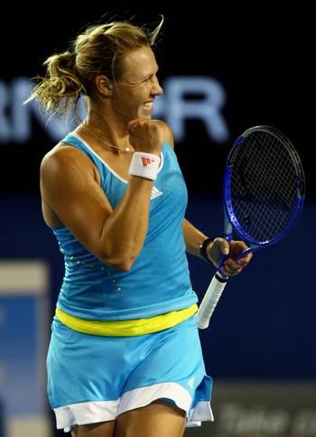 Алісія Молік (Австралія) (Alicia Molik of Australia) під час відкритого чемпіонату Австралії з тенісу. Фото: Mark Dadswell/Getty Images