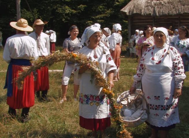 Свято жнив пройшло в Пирогові. Фото: Єеген Бруг/ NTD