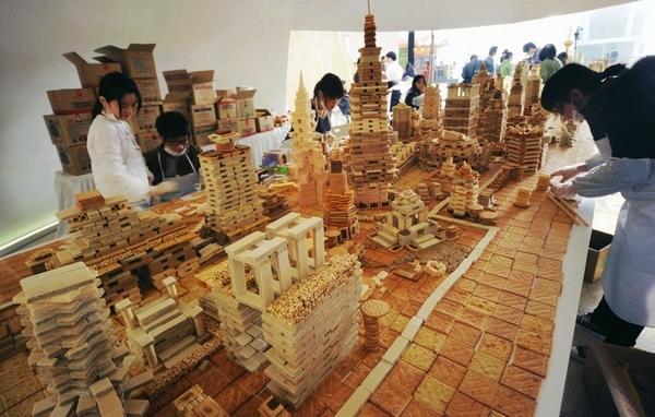 Город из печенья