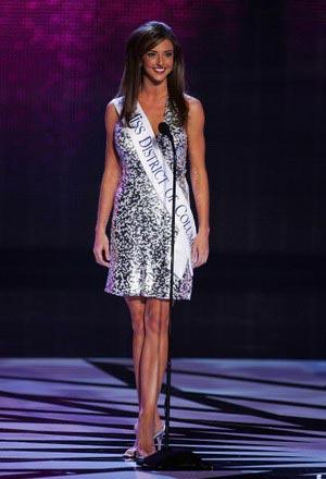 Мисс Детройт округ Колумбия, Kate Michael. Фото: Ethan Miller/Getty Images