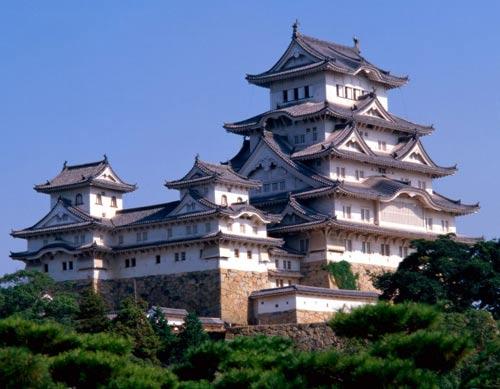 Древний храм в Японии.