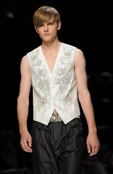 Джон Ричмонд (John Richmond) на Міланському тижні моди. Фото: Victor VIRGILE / Gamma-Rapho via Getty Images