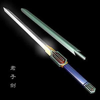 Меч благородної людини (цзюньцзи цзянь). Фото з aboluowang.com