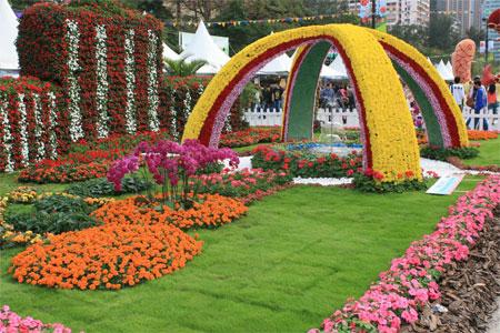 Гонконгская выставка цветов. Фото: У Лянью/Великая Эпоха