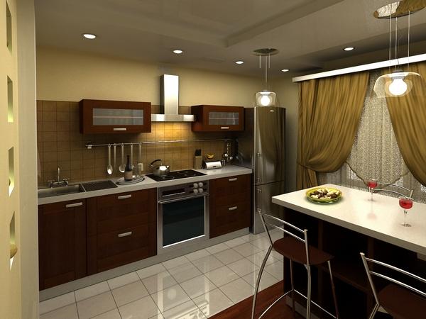 Кухня. Фото:finist-dom.ru