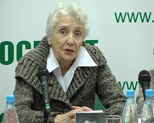Писательница Л. Эльяшева. Фото: Вячеслав Козлов
