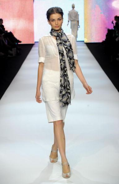 Коллекция от Дэвида Лоуренса на неделе моды Rosemount в Австралии. Фото: Stefan Gosatti/Getty Images