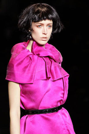 Альбер Эльбаз (Albert Elbaz) для Дома моды Lanvin. Коллекция ready-to-wear осень-зима 2007/2008. Фото: PIERRE VERDY/AFP/Getty Images