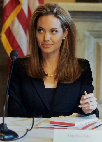 Анджелина Джоли / Angelina Jolie. Фото: Joe Raedle/Getty Images