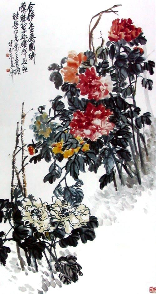 Півонія. Художник У Чаншо. 1916 р. Фото із secretchina.com