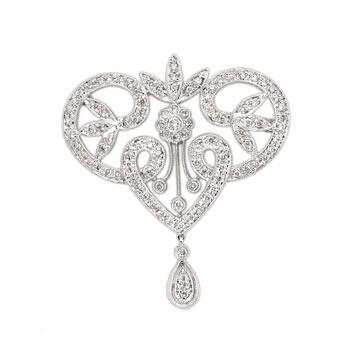 Великолепные брошки с алмазами/фото с efu.com.cn