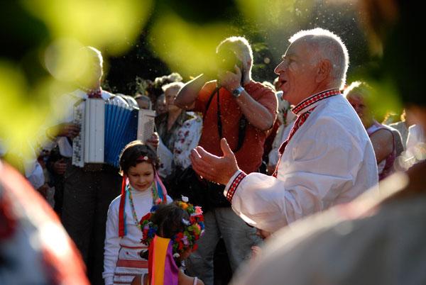На праздникe выступили фольклорные коллективы из разных областей Украины. Фото: Владимир Бородин/The Epoch Times