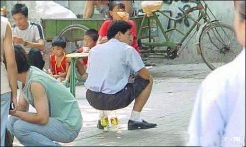 Цікаві фото з китайських вулиць. Фото з aboluowang.ком