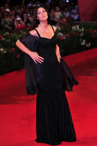 Французська й італіська акторка Моніка Белуччі (Monica Bellucci). Фото: GIUSEPPE CACACE/AFP/Getty Images
