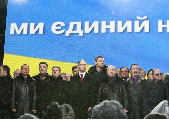 Украинская оппозиция объединяется в борьбе против нынешней власти