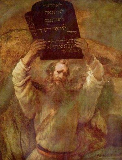 Мойсей розбиває скрижалі, Рембрандт. Фото з сайту narodnapravda.com.ua
