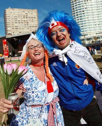 Дев'яте місце в рейтингу найщасливіших країн світу - Нідерланди. Фото: RAJESH JANTILAL/AFP/Getty Images