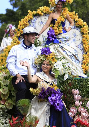 Фестиваль цветов на острове Мадейра. Фото: GREGORIO CUNHA/AFP/Getty Images