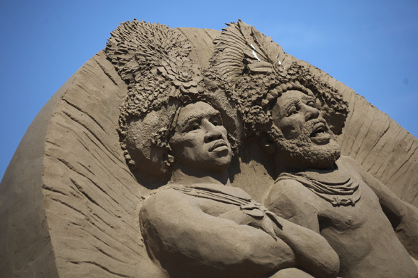 Фестиваль піщаних скульптур. Фото: Matt Cardy/Getty Images
