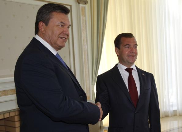 Медведєв і Янукович