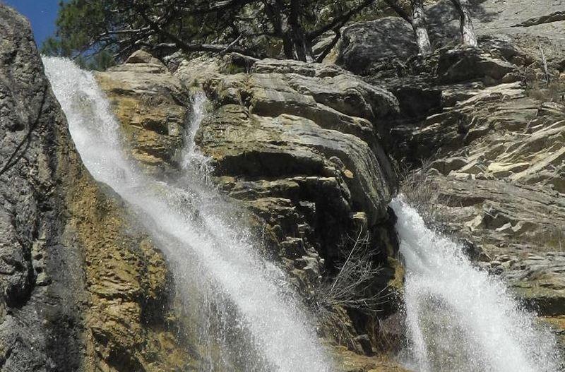 Верхний каскад водопада. Фото: Алла Лавриненко/EpochTimes.com.ua