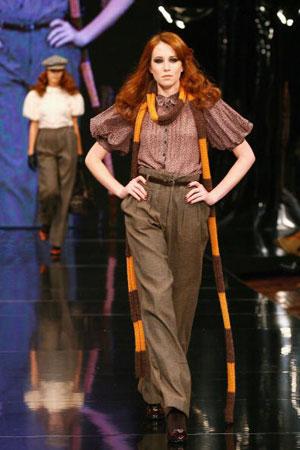 Melbourne Fashion Festival 2007. Фото: Kristian Dowling/Getty Images