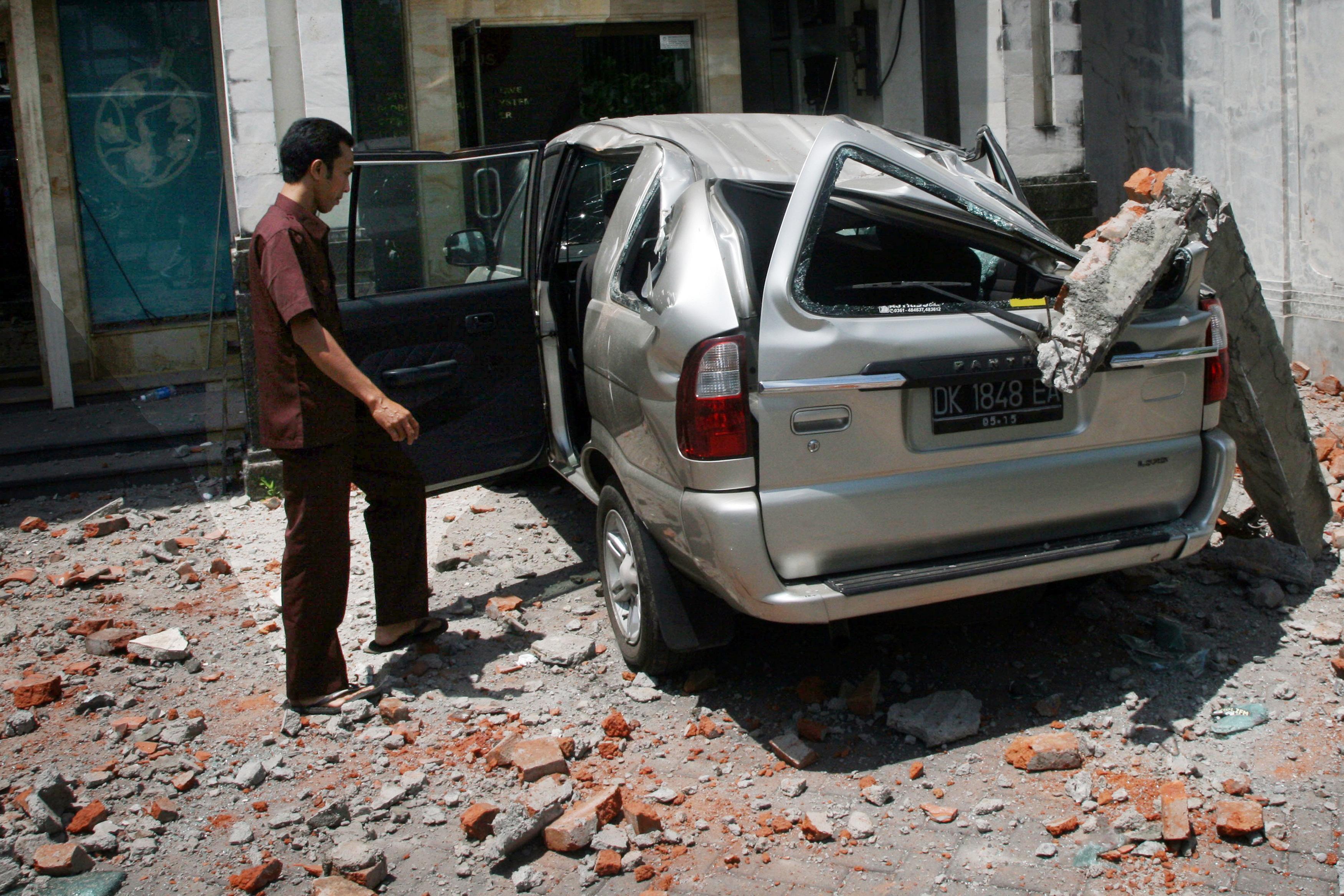Индонезию сотрясло землетрясение