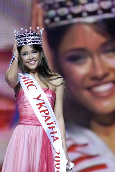 Победительница конкурса «Мисс Украина - 2008» Ирина Журавская. Фото: The Epoch Times