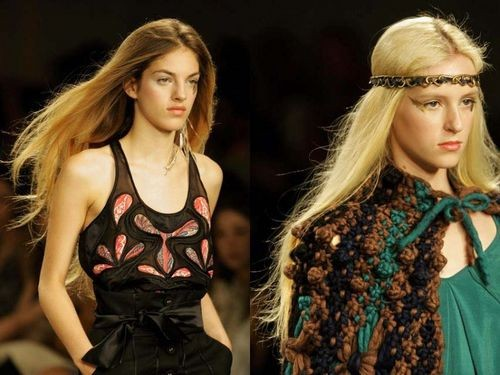Неделя моды в г.Сан-Паула (Бразилия). Коллекции осень/зима-2008. Фото: AFP