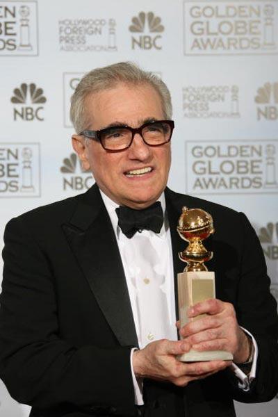 Мартін Скорцезе (Martin Scorsese), що отримав 'Золотий глобус' за фільм 'Відступники' Фото: Bob Long/HFPA via Getty Images
