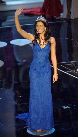 Міс Всесвіт-2005. Фото: HECTOR Mata/afp/getty Images
