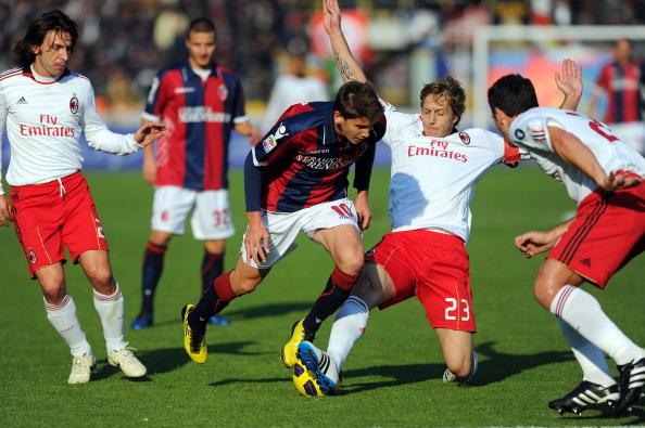 'Болонья' - 'Милан'. Фото: Getty Images Sport