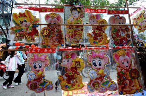 По китайскому лунному календарю 2008 г - это год мыши. Фото: Getty Images