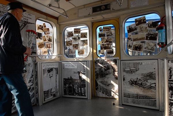 Історичний вагон почав курсувати по Святошинсько-Броварській лінії Київського метрополітену з 25 березня 2010 року. Фото: Володимир Бородін/The Epoch Times