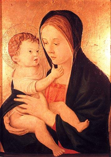 Джованни Беллини. Мадонна с Младенцем. Музей Феша. Аяччо, Франция