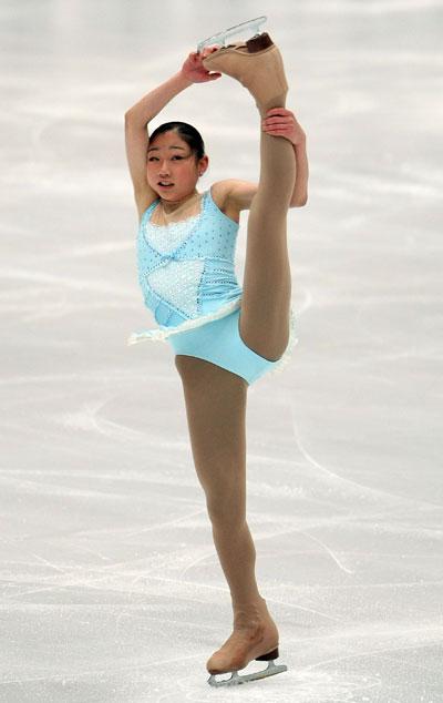 Міраї Нагасу (команда Північної Америки) виконує довільну програму. Фото: Koichi Kamoshida/Getty Images