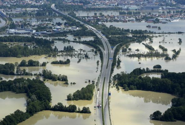 Затоплена місцевість