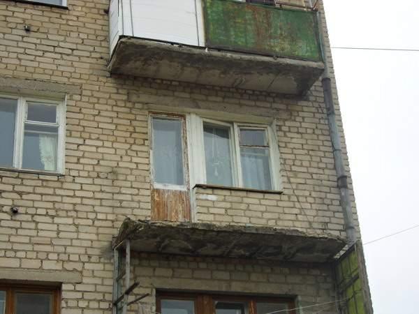 Сонник балкон рушится. - остекление лоджий - каталог статей .