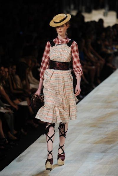 Колекція від Marc Jacobs. Фото: STAN HONDA/AFP/Getty Images