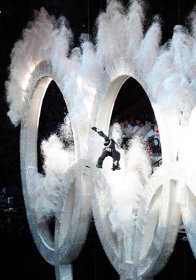 у Ванкувері відбулася церемонія відкриття зимових Олімпійських Ігор - 2010.Фото: Фото: DAVID HECKER/AFP/Getty Images