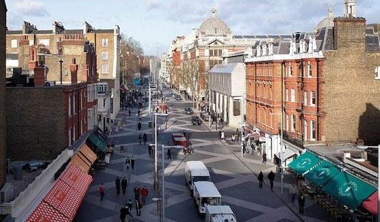 У Лондоні відкрили вулицю без правил дорожнього руху
