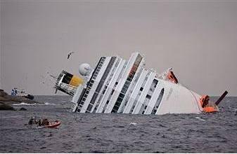 Біля берегів Італії зазнав аварії лайнер з 4200 пасажирами на борту