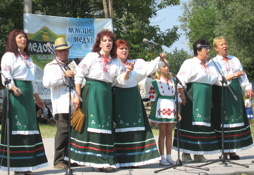 В селе Великие Сорочинцы на Полтавщине проходит Сорочинская ярмарка. Фото: Ирина Рудская/Великая Эпоха