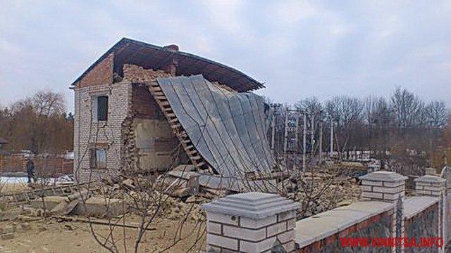 Через вибух газу в Немирові зруйновано півбудинку