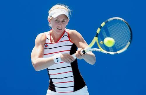 Джесіка Мур (Австралія) ( Jessica Moore of Australia) під час відкритого чемпіонату Австралії з тенісу. Фото: Quinn Rooney/Getty Images