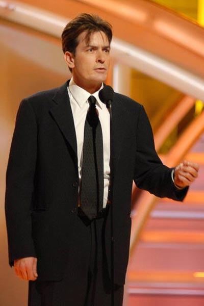 Чарлі Шин (Charlie Sheen) на щорічній церемонії вручення премії 'Золотий глобус' Фото: Bob Long/HFPA via Getty Images
