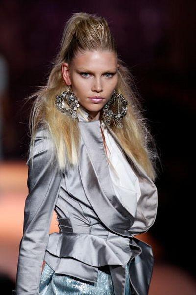 Колекция от Zac Posen на неделе моды Mercedes-Benz в Нью-Йорке. Фото: Scott Gries/Getty Images