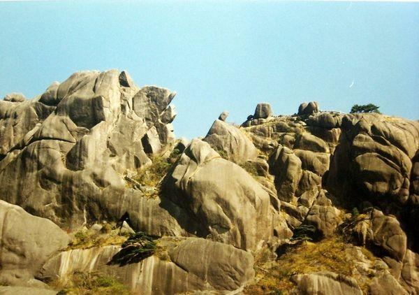 Гори Хуаншань («Жовті гори»). Фото із secretchina.com