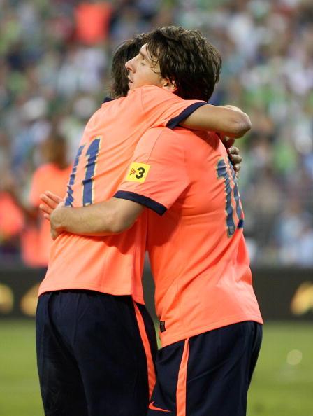'Сіэттл Саундерс' 0-4 'Барселона' Фото:Otto Greule Jr /Getty Images Sport