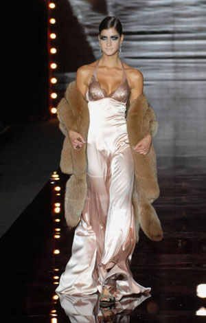 The Andres Sarda Fall/Зима 2007. Фото: Carlos Alvarez/Getty Images